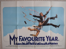 My Favourite Year, Original UK Quad Film Poster, Peter O'Toole, '82